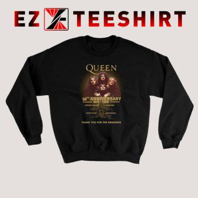 Queen 50th Anniversary 1970 2020 Sweatshirt 400x400 - EzTeeShirt Ezy Buy Clothing Store