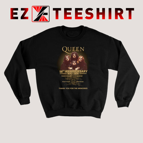 Queen 50th Anniversary 1970-2020 Sweatshirt