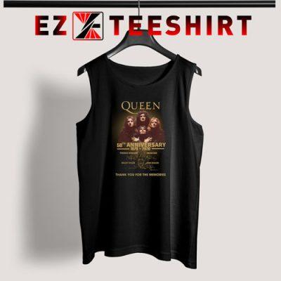 Queen 50th Anniversary 1970 2020 Tank Top 400x400 - EzTeeShirt Ezy Buy Clothing Store