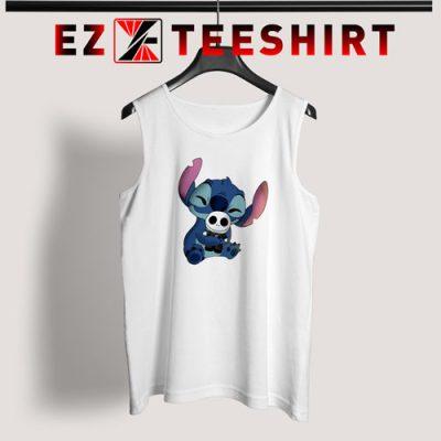 Stitch Hug Jack Skeleton Tank Top 400x400 - EzTeeShirt Ezy Buy Clothing Store