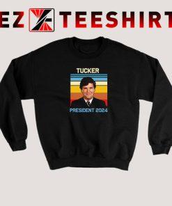 Tucker Carlson President Sweatshirt 247x296 - EzTeeShirt Ezy Buy Clothing Store