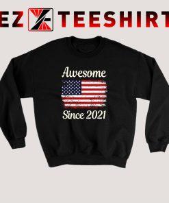 America Flag 2021 Sweatshirt