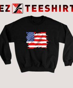 America Flag Sweatshirt
