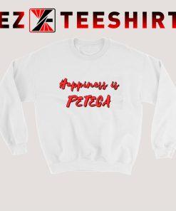 Happiness is Peteca Sweatshirt