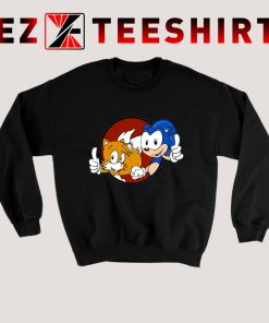 Sonic And Tails Sweatshirt