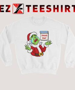 Grinch Hate Christmas Sweatshirt