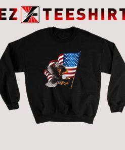 American Flag Eagle Sweatshirt