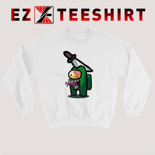 Among Us Imposter Green Sweatshirt