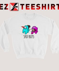 Among Us Sad Boys Sweatshirt
