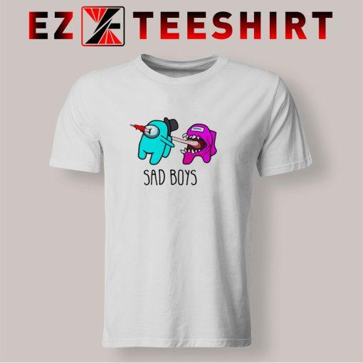 Among Us Sad Boys T Shirt