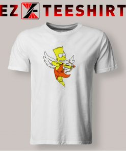 Bart Simpson Shoots Hearts T Shirt