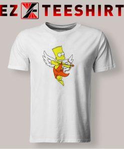 Bart Simpson Shoots Hearts T Shirt