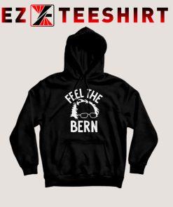 Bernie Sanders Feel The Bern Hoodie