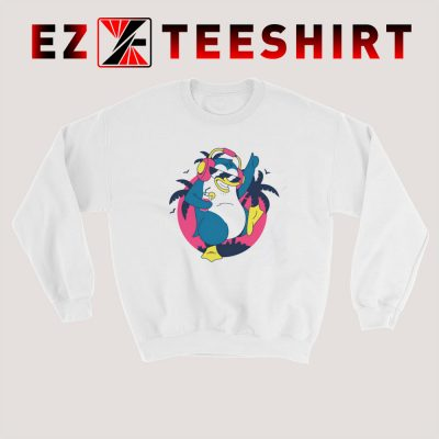 Dancing Tropical Penguin Sweatshirt 400x400 - EzTeeShirt Ezy Buy Clothing Store