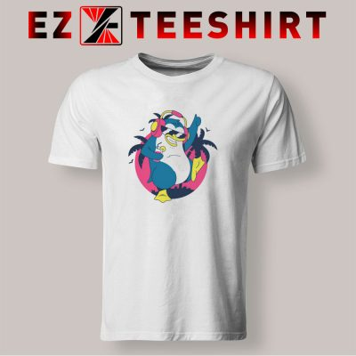 Dancing Tropical Penguin T Shirt 400x400 - EzTeeShirt Ezy Buy Clothing Store