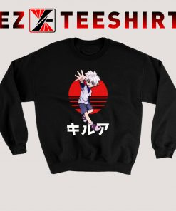Killua Happy Sweatshirt