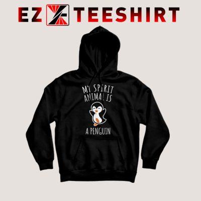 My Spirit Animal Is A Penguin Hoodie 400x400 - EzTeeShirt Ezy Buy Clothing Store