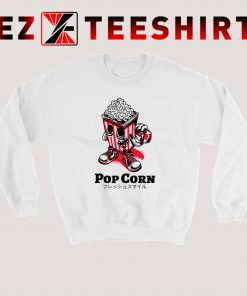 Popcorn Skateboard Kid Sweatshirt
