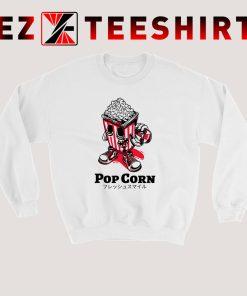 Popcorn Skateboard Kid Sweatshirt