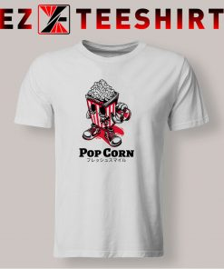 Popcorn Skateboard Kid T Shirt
