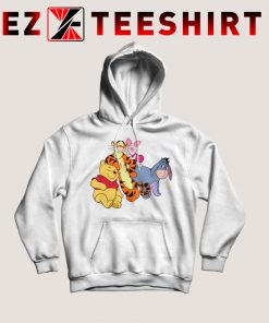 Winnie The Pooh And His Friends Hoodie