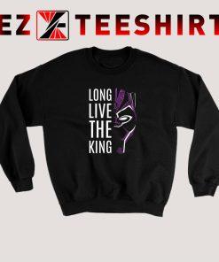 Black Panther Long Live The King Sweatshirt