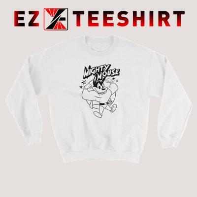 Mighty Mouse Sweatshirt 400x400 - EzTeeShirt Ezy Buy Clothing Store