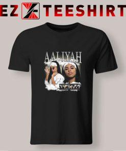 Aaliyah 90s Vintage T Shirt