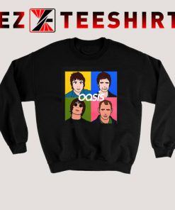 Oasis Four Man Sweatshirt