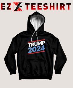 Slogan Trump 2024 Hoodie