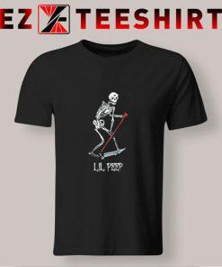 Lil Peep Skeleton T Shirt