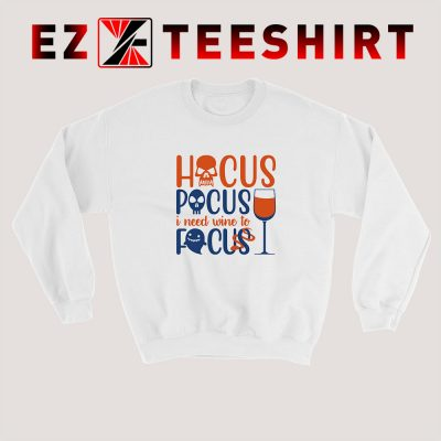 Hocus Pocus Focus Sweatshirt 400x400 - EzTeeShirt Ezy Buy Clothing Store