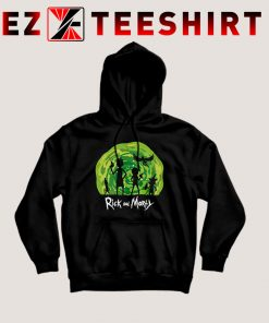 Schwifty Patrol Rick And Morty Hoodie