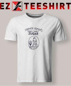 Bart Simpsons Farmer Homers Sugar T Shirt