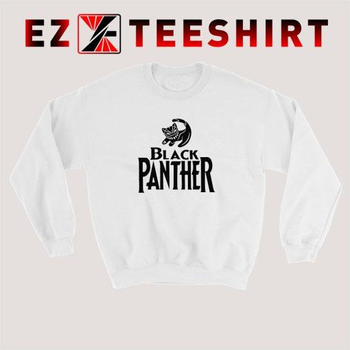 Black Panther Cat Sweatshirt