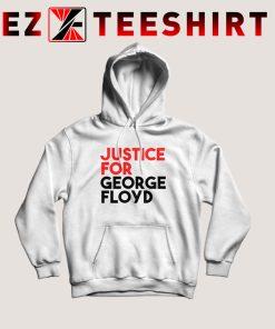 Justice For George Floyd Quote Hoodie