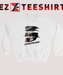 Kong Team vs Godzilla Team Sweatshirt