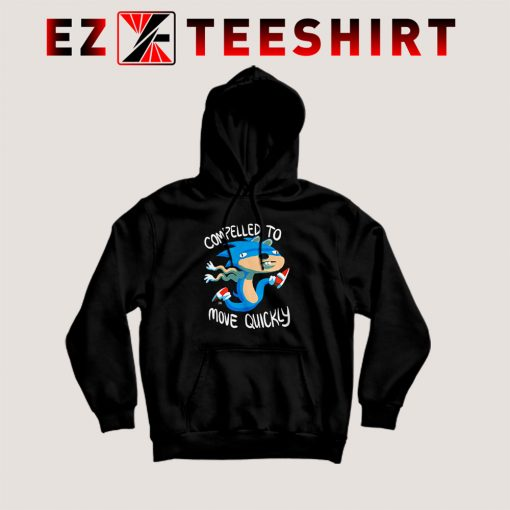 Sonic Compelled To Move Quickly Hoodie