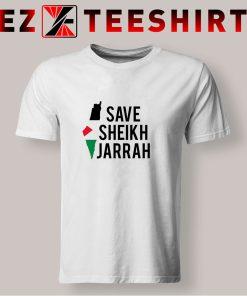 Free Palestine Save Sheikh Jarrah T Shirt