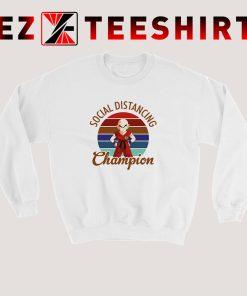 Krillin Dragon Ball Social Distancing Sweatshirt