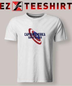 Captain America Super Soldier T Shirt