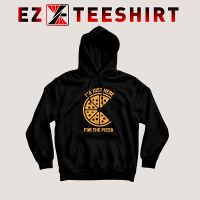 Just Here For The Pizza Hoodie 400x400 - EzTeeShirt Ezy Buy Clothing Store