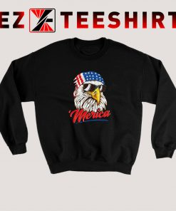 Mullet Eagle America USA Sweatshirt