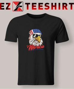 Mullet Eagle America USA T Shirt