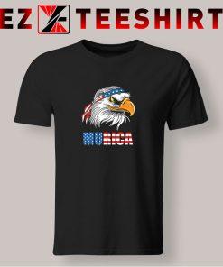 Patriotic Eagle Mullet Murica T Shirt