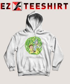 Rick And Morty Middle Finger Hoodie
