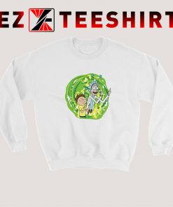 Rick And Morty Middle Finger Sweatshirt