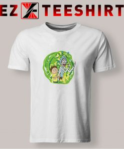 Rick And Morty Middle Finger T Shirt