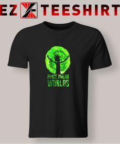 Rick And Morty Peace Among Worlds T Shirt