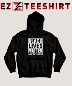 Black Lives Matter Justice For George Floyd Hoodie
